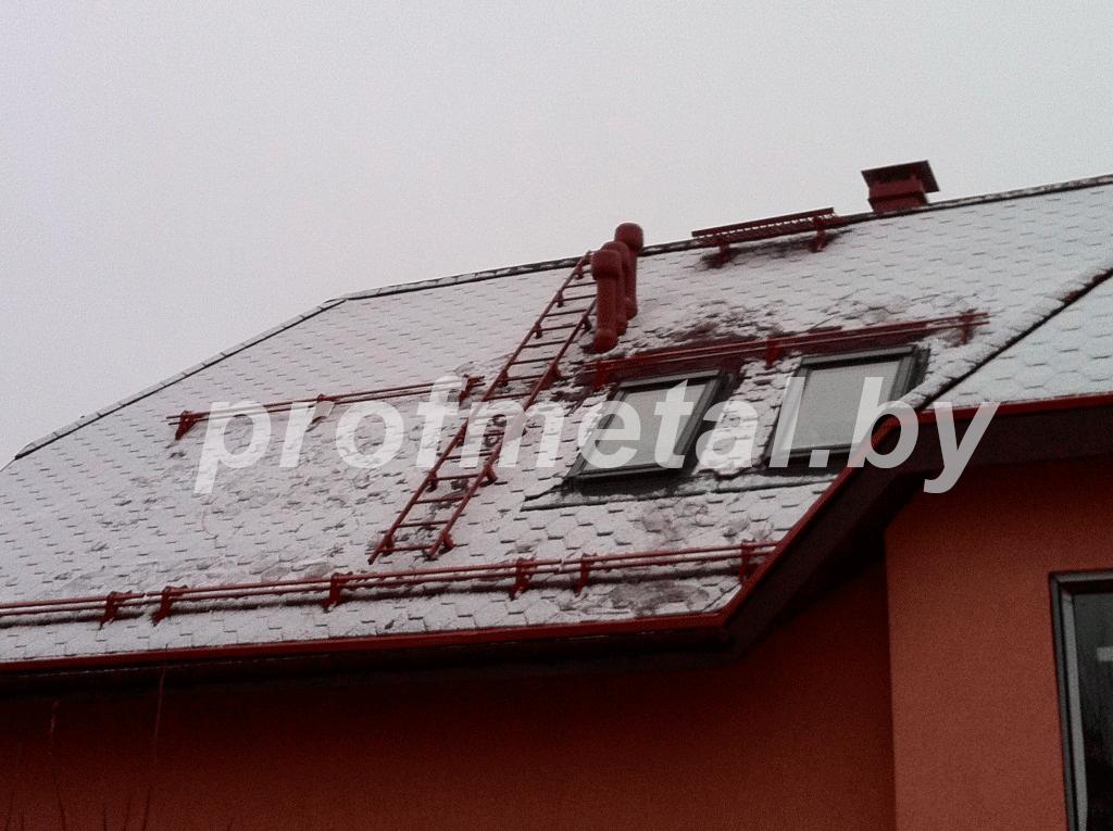 ЭБК Снегозадержатель трубчатый